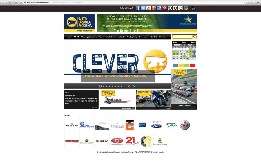 Autodromo di modena for Siti web di costruzione domestica